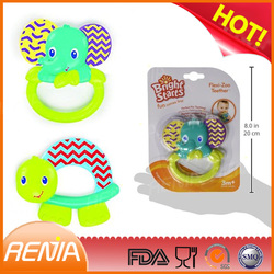 RENJIA silicone cute and funny teether best baby teethers teething tips