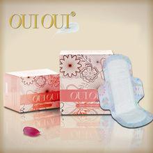 100% pure cotton fresh sanitary pads sale sanitary napkin bag