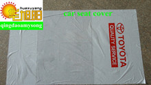 LDPE plastic clear plastic car Seat Covers with printing 500 pcs/roll