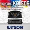 WITSON FOR RENAULT KOLEOS 2014 DVD GPS RADIO WITH 1.6GHZ FREQUENCY A8 DUAL CORE CHIPSET BLUETOOTH GPS