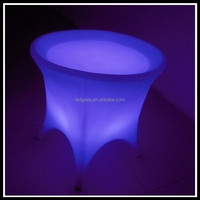 Frozen Cheap Price illuminated Nail LED Bar Table Furniture Used As A Flower Pot Available