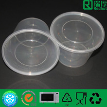 Plastic microwave oven safe packing box 500ml
