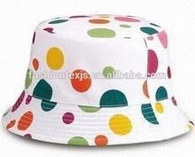 Barato bordado algodón cubo aclaran el sombrero venta al por mayor