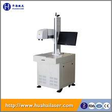 China fiber laser marking machine used thermoplastic road line laser marking machine for metal with high quality