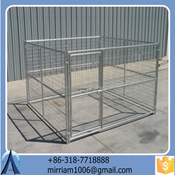 High quality new design hot sale beautiful folding large outdoor pet cages/dog cages