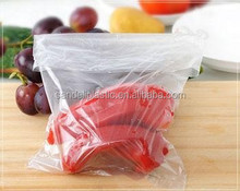 hdpe clear food flat bags on roll(packaging and printing)
