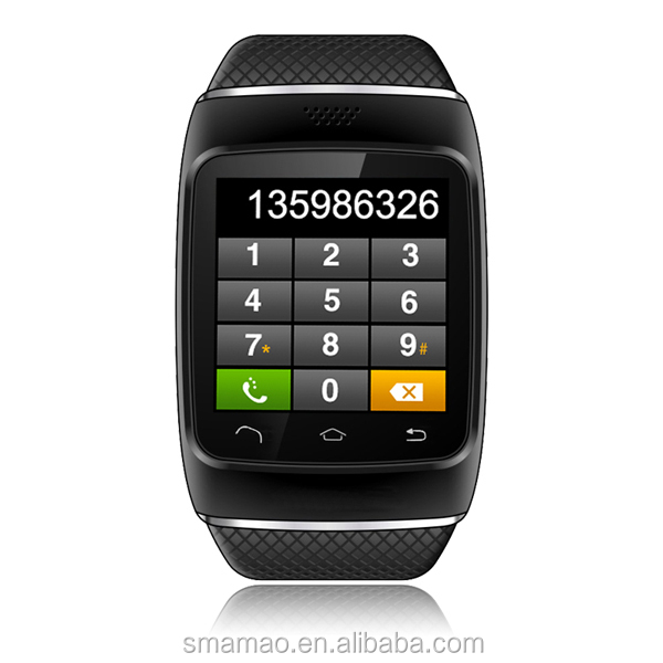 2014 cheap smart watch and phone Fashion Touch Screen cell phone watch