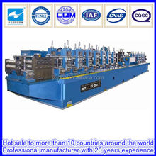High frequency steel tube roll forming mill