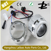 Chinese factory 2016 Hot sale best price 2.8 inch hid bi xenon projector lens light with angel eyes