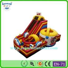 newest Tom And Jerry bounce houses with water slides/ best rated inflatable water slides/ huge inflatable water slides
