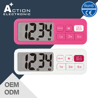 digital table countdown timer display battery powered