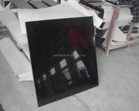 Polished Black Granite Shanxi Black Granite for flooring or countertop or tombstone