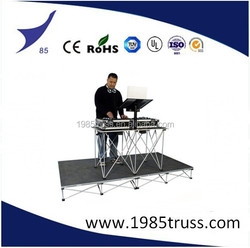 dj equipment smart stage easy install stage concert event stage