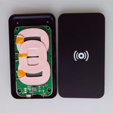 Universal wireless charging transmitter 3 coil qi wireless charger for samsung galaxy s6