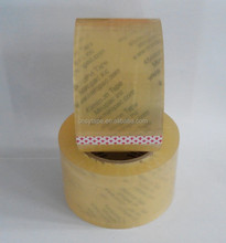 bopp clear packing adhesive tape 25mic film with 20mic adhesive
