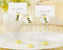 'Sweet as Can Bee' Baby Bee Place Card Holders