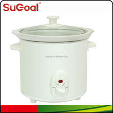 2015 SuGoal round slow cooker 3.0L/3.2Quart crock pot