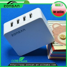 wholesale cellphone charger 4 port USB charger cellphone accessories