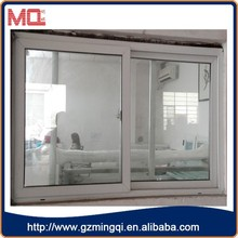 Double glazed office sliding glass window/pvc window with best price