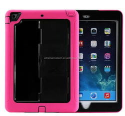 New Arrival Heavy Duty Protective Hybrid Rugged 2 in 1 for iPad Pro TPU Case