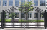 Steel Main Gate Design, Wrought Iron Gate Designs