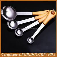 hot new products for 2015 heart shape measuring spoon set