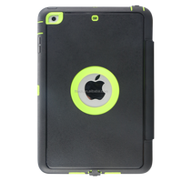 2015 new design armor shockproof tablet case for ipad mini, armor tablet cover case for ipad 2/3/4