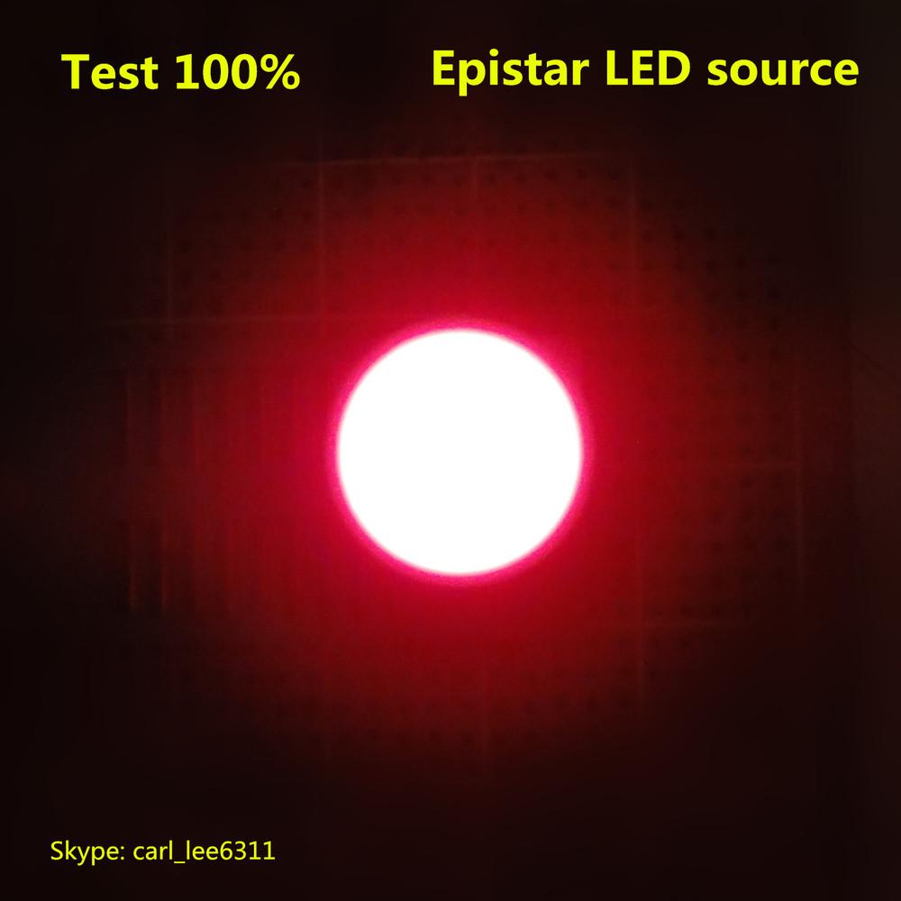 Round led bar 18mm red color single round LED light bar