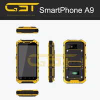 """IP68 QUAD CORE 4.3""""ANDROID SMART MOBILE PHONE ,GPS,AGPS , PTTand NFC optional S09 rugged waterproof mobile phone"""