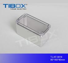 TIBOX RoHS IP6 PolyCarbonate Waterproof switch case Terminal box plastic light switch box