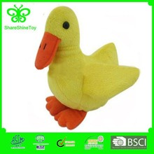 Lovely customized soft plush duck cushion