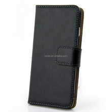Genuine Real Leather Wallet Stand Case Cover For Apple iPhone 6 Free Screen Protector