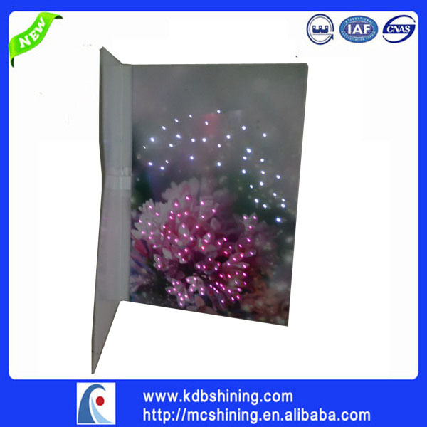 Wholesale led greeting cards with music and lights