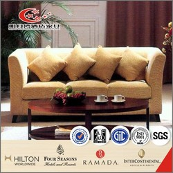 Commercial Hotel Leather Sofa for Sale