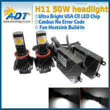 Auto Lighting System auto LED Headlight 24V 50W LED 1800LM*2 High bright waterproof SINGLE BEAM LED CONVERSION KIT