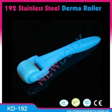 KD-192 2015 Newest Cheap Micro Needle Roller Therapy Acne Removal New 192 Needles Blue Derma Roller
