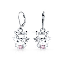 Quality Guarantee Stainless Steel Small Size Cartoon Earrings for Little Girls