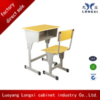 Top sale used school furniture, school desk and chair