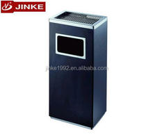 Manufacturer Custom Made Commercial Trash Litter Bin, Office Used Paper Garbage Can Stainless Steel