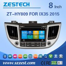 car parts for Hyundai ix35 Tucson car parts DVD GPS Navigation System Touch LCD Bluetooth SD USB Radio wifi 3G 2014 2015