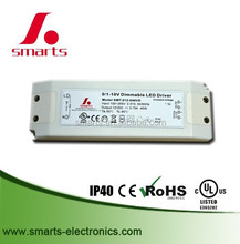 0-10v dimmable Waterproof led driver for 45w 12v/24v LED strip constant voltage power supply