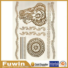 Flash Metallic Sticker Wholesaler Temporary Design tattoo pictures