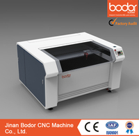 BCL1309XS screw drive cnc 150W co2 mylar stencils, MDF, acrylic, paper, plywood laser cutting machine serie BCL-XS