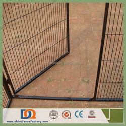 Mesh Hole 50*100mm Galvanized Powder Painted Steel Dog Kennel