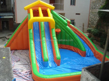 Cheap inflatable water slides,inflatable slide with pool , Kids Used water slide for sale