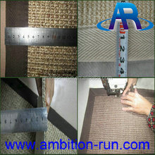 Luxury sisal hotel carpet, meeting room sisal carpet