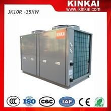 Energy saving 75% power, high cop 4.5 Commercial Hot Water Heater Air Source Heat Pump
