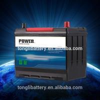 Japan car battery lead calcium MF120ah car battery batterie auto prezzi