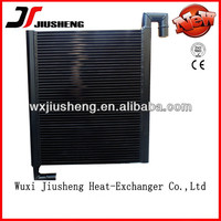 OEM and Customized hydraulic oil cooler for concrete pump,double electrical fan