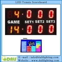 High quality interactive tennis scoreboard